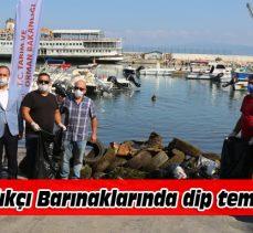 Balıkçı Barınaklarında dip temizliği yapıldı