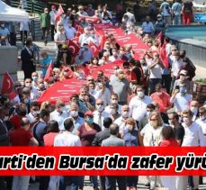 İYİ Parti'den Bursa'da zafer yürüyüşü