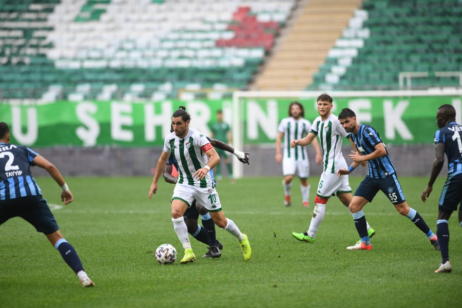 Bursaspor-Adanademirspor: 1-3