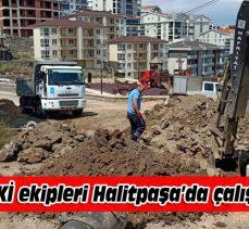 BUSKİ'den Mudanya Halitpaşa'daki altyapı ağına yenileme