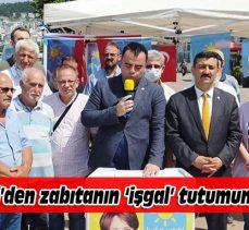 Mudanya'daki Büyükşehir'in zabıta operasyonuna İYİ Parti'den kınama
