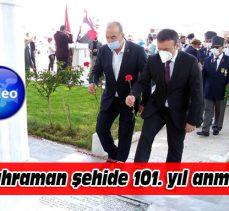 Mudanyalı kahraman Şükrü Çavuş şehadetinin 101. yılında anıldı