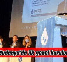 DEVA Partisi'nden Mudanya'da ilk genel kurul