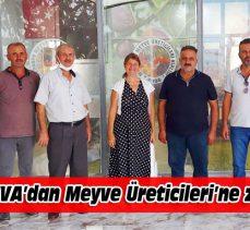 DEVA'dan Meyve Üreticileri'ne ziyaret