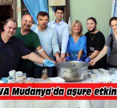 DEVA Mudanya'dan aşure etkinliği
