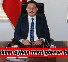 Mudanya Kaymakamı Ayhan Terzi göreve başladı