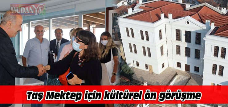 Bursa'da Tirilye Taş Mektep için kültürel ön görüşme