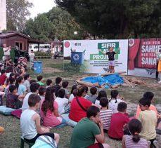 Bursa Gürsu'dan doğa korumasına tiyatrolu destek
