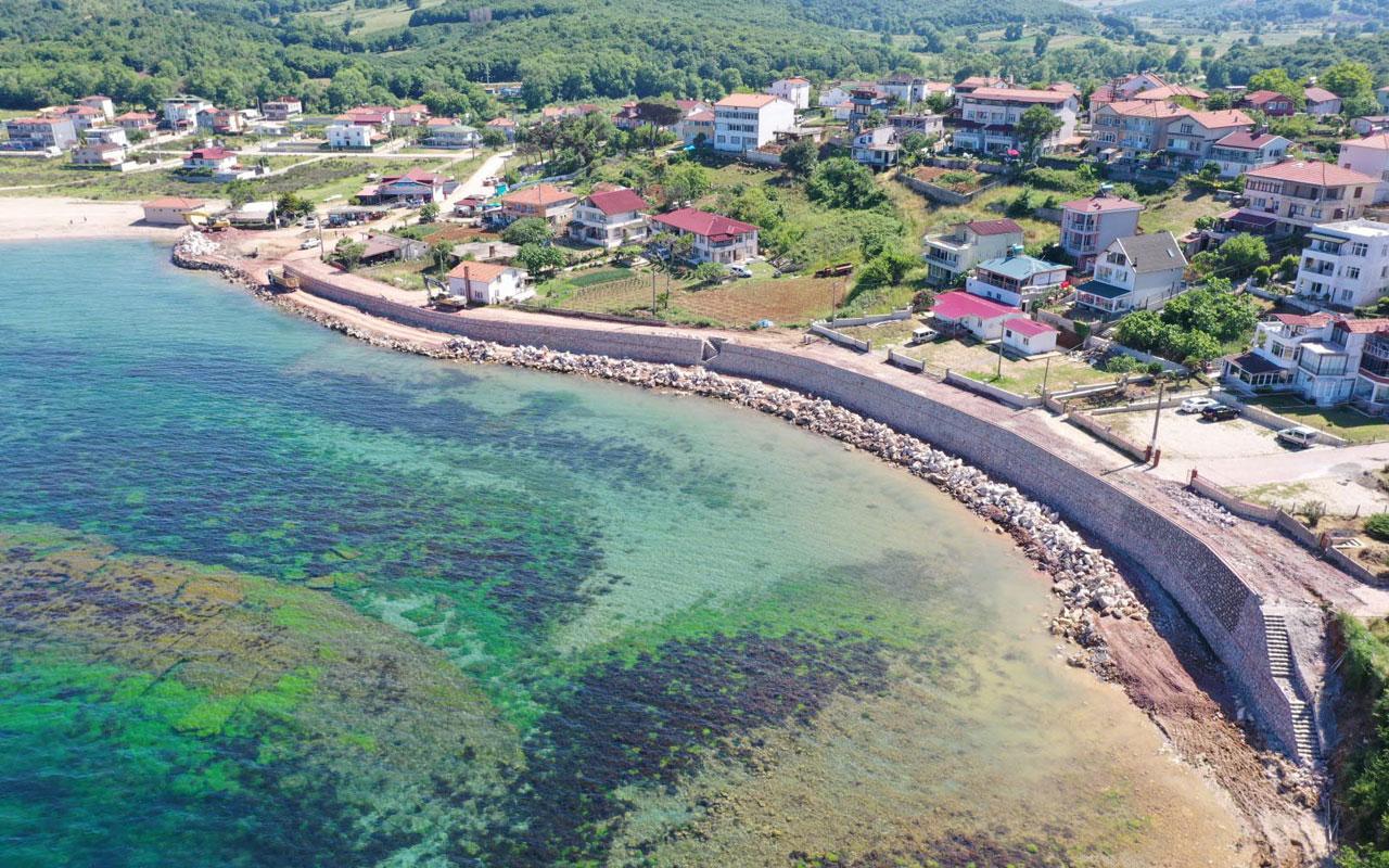 Kocaeli Kandıra sahillerinde kapsamlı temizlik