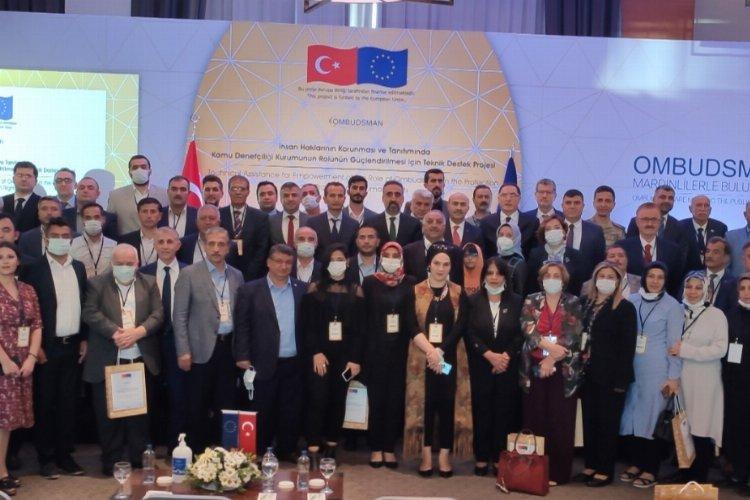 Şeref Malkoç Mardin'de muhtarlar ve STK temsilcileriyle buluştu