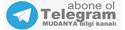 Telegram MUDANYA Kanalı